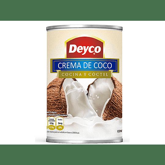 Crema de Coco 396g - Deyco