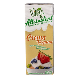 Crema Vilay Preparaciones Dulces y Saladas 200ml