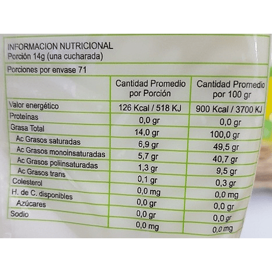 Manteca Vegetal - Vita Bake (1kg)
