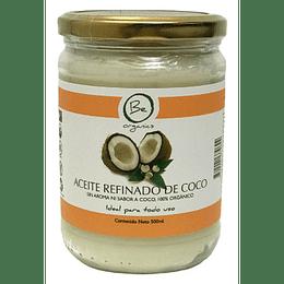 Aceite refinado de Coco 500g- Be Organics