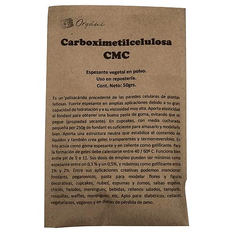 Carboximetilcelulosa CMC - Organi