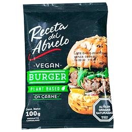 Hamburguesa Vegana - Receta del Abuelo