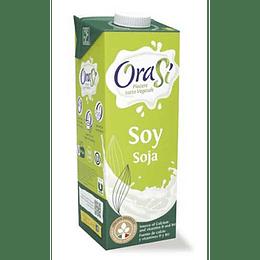 Bebida Vegetal de Soya Sin Azúcar - OraSi (1 litro)