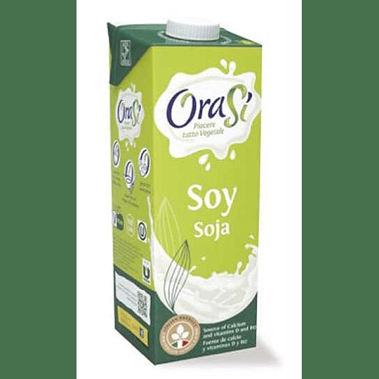 Bebida Vegetal de Soya - OraSi (1 litro)