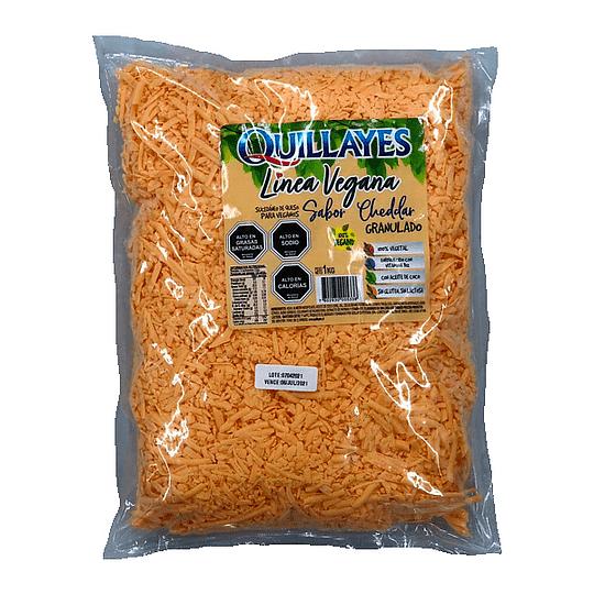 Cheddar Granulado Quillayes - 1kg