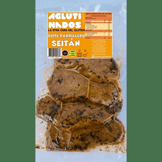 Bife de Seitan Parrillero 500g - Aglutinados