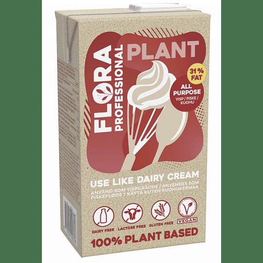 Flora Professional - Crema Vegetal para Batir, 1L