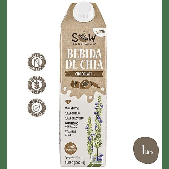 Bebida de Chia-Chocolate 1L - Sow