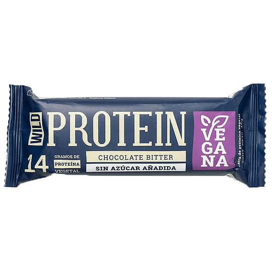 Barra Protéica Chocolate Bitter - Wild Protein $900