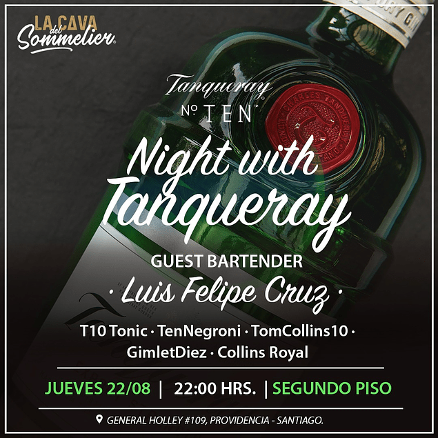 Night with Tanqueray