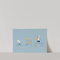 Lámina Tres Amigos
