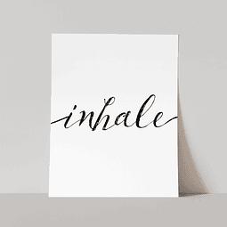 Lámina Inhale