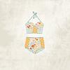 Lámina Bikini Flores