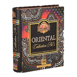 Assorted Tea book ORIENTAL N°1