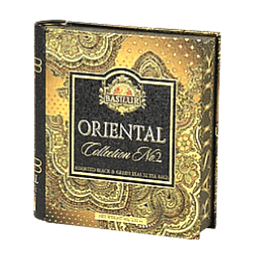 Assorted Tea book ORIENTAL Collection N°2