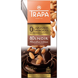 Chocolate Trapa 80% Noir