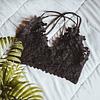 Bralette Flora Negro