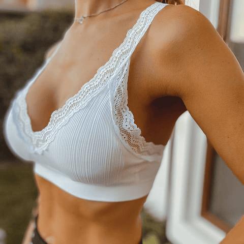 Bralette Pascuala Blanco
