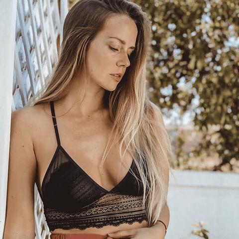 Bralette Gloriana Negro