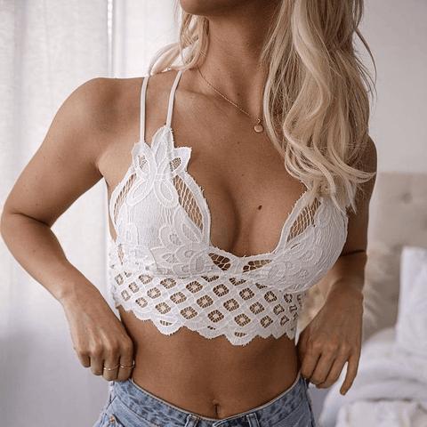Bralette Valeria Padded Blanco