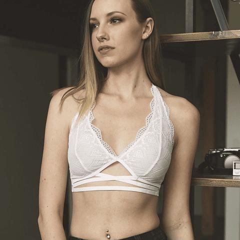 Bralette Javiera Blanco