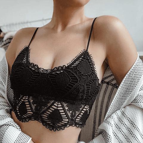 Bralette Elena Negro