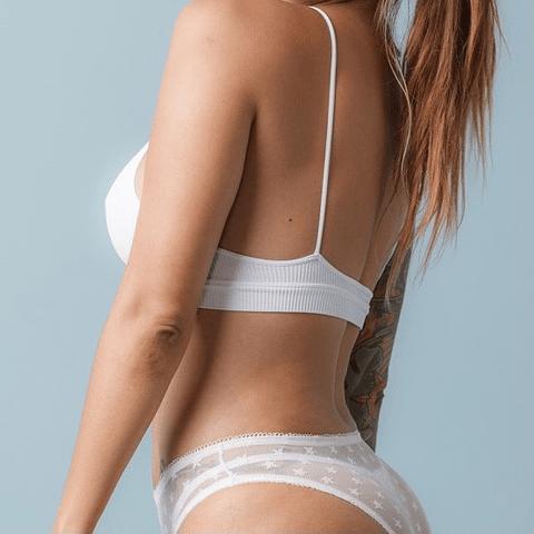 Bralette Matilde Blanco