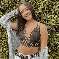 Bralette Valeria Negro