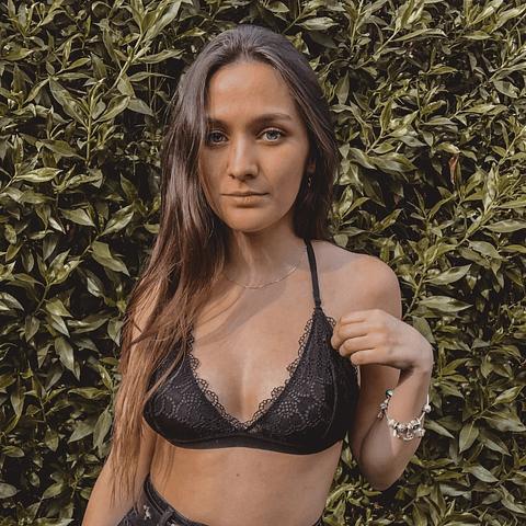 Bralette Alonsa Negro
