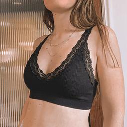Bralette Pascuala Negro