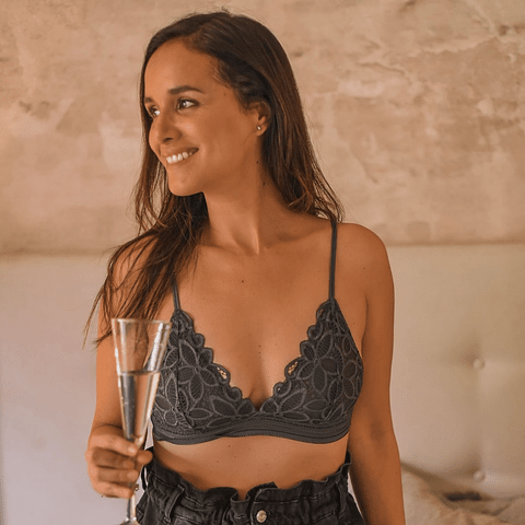 Bralette Clara Grafito