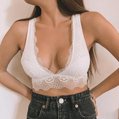 Bralette Lucía Blanco