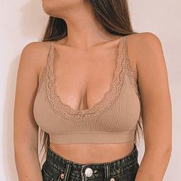 Bralette Pascuala Mocha