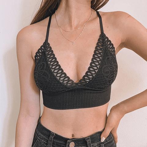 Bralette Agustina Negro