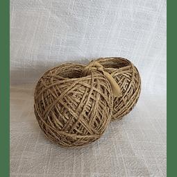 Pack de ovillos de Yute - Natural