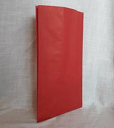 Sacos de Papel Color Rojo C-0400 1X100 unidades