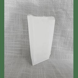 Sacos de Papel Blanco B-0025 1X100 unidades