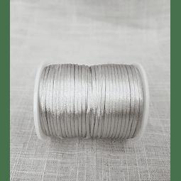 Cordón plateado - 50 metros