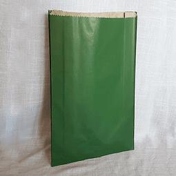 Sacos de Papel Color Verde C-0700 1X100 unidades