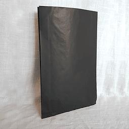 Sacos de Papel Color Negro C-0700 1X100 unidades