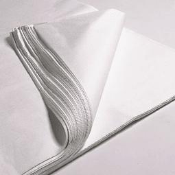 Papel Seda Blanco 1000 pliegos 77 x 50 cms.