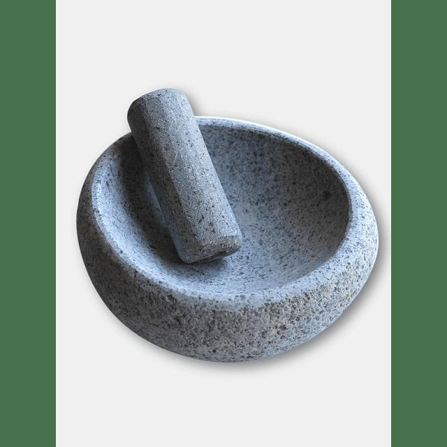 Mortero Mediano de Piedra