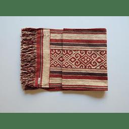 Camino de mesa Mapuche Rojo