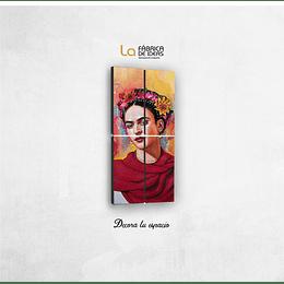 Cuadro de Frida Kahlo 1 metro de alto x 50 de ancho