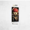 Cuadro Jack Sparrow 1 metro de alto x 50 de ancho