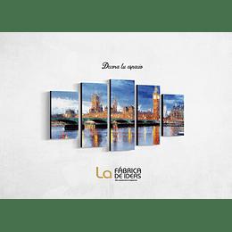 Cuadro de Londres Tamaño 110 de ancho x 59 de alto