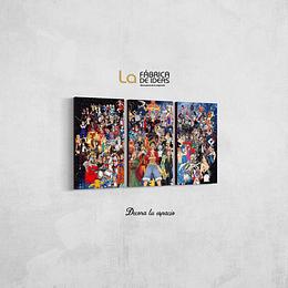 Collage anime Tamaño 80 de ancho x 50