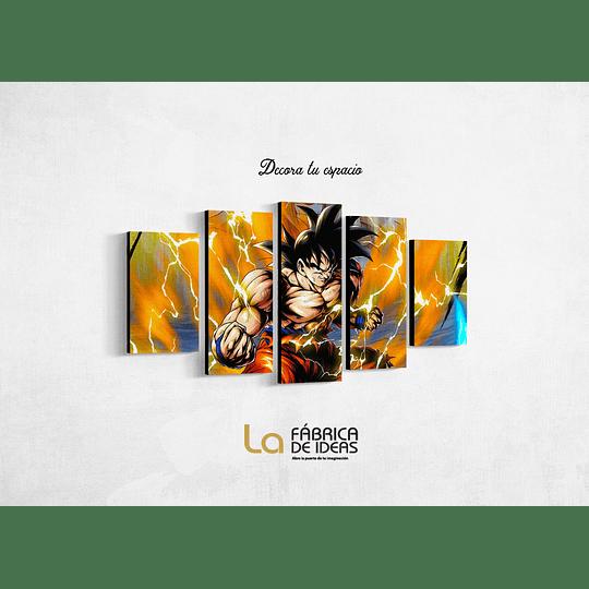 Cuadro Dragon Ball Goku Tamaño 110 x 59