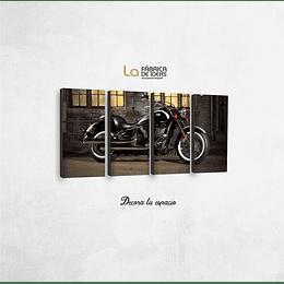 Cuadro Moto 1 metro 5 cm de ancho x 50 de alto