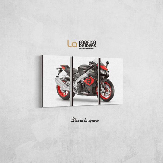 Cuadro Moto RSV4RR tamaño 80 de ancho x 50 de alto